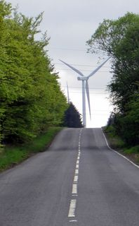 Heading towards the turbines