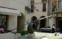 Fountain at Vicenza, Italy 2008