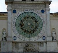Another astrological clock, Padua, Italy 2008